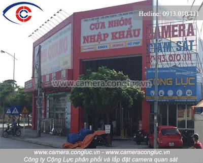 Camera Cộng Lực - 393 Nguyễn Văn Linh - Ngã 3 Cầu Rào 2 - Lê Chân - Hải Phòng.