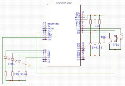 Interfacing multiple switches single Interrupt pin