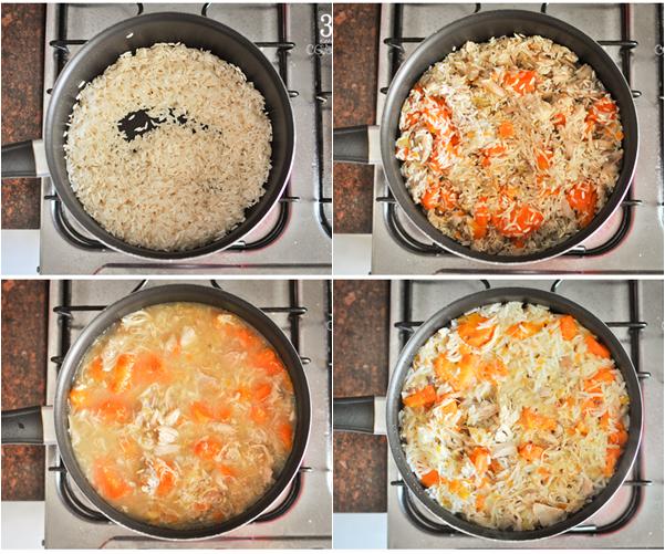 arroz reaproveitamento