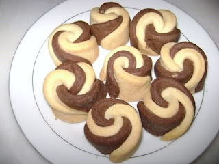 Double Coloured Cookies (Iki Renkli Kurabiye)