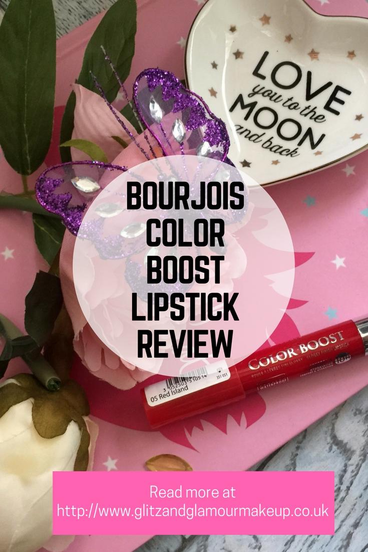 bourjois colorboost lipstick red island