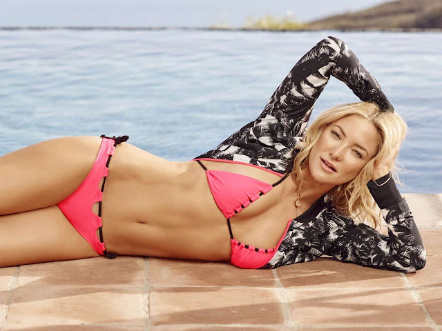 Kate Hudson – Swimwear Summer 2016