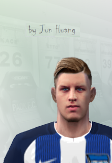 PES 6 Faces Arne Maier by Jun Huang