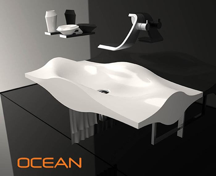 If It's Hip, It's Here (Archives): The Ocean Sink from Il Bagno Bandini Resists Scratches and ...
