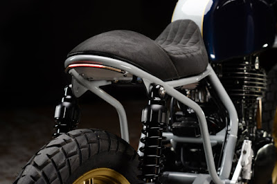 Honda FT 500 Ascot Custom tail