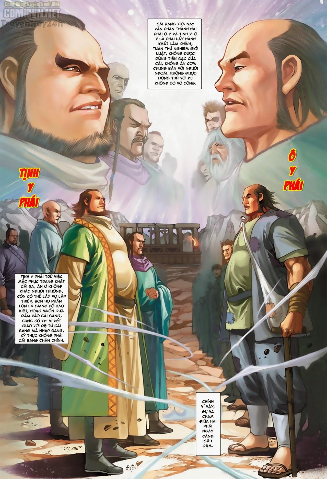 Anh Hùng Xạ Điêu anh hùng xạ đêu chap 66: nhạc châu đại hội trang 3