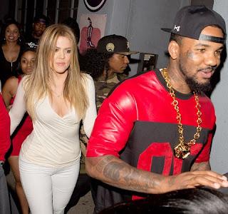 Hip hop artiste the game and Khloe Kardashian
