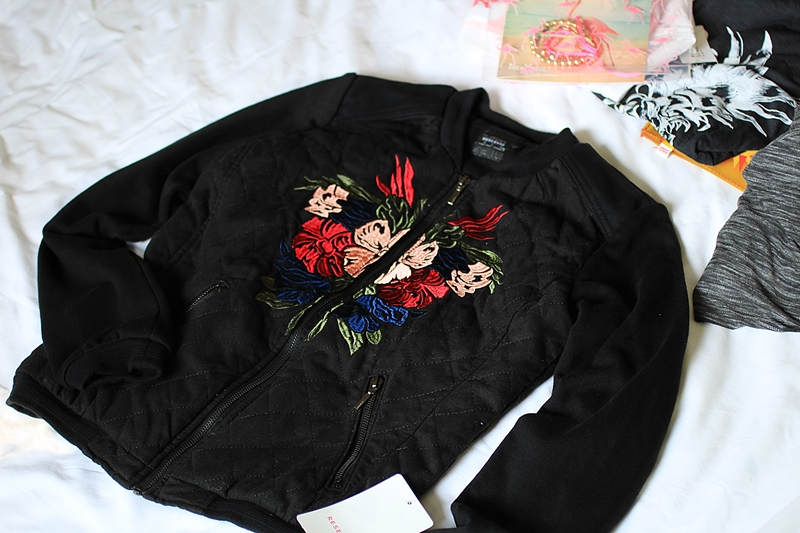 reserved jacket flowers