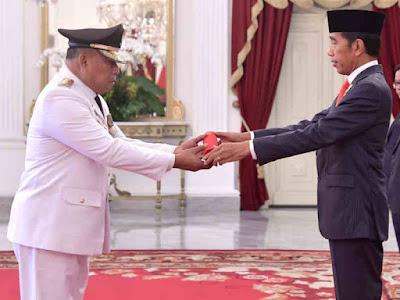 Murad Ismail  Resmi Pimpin Maluku Periode 2019-2024