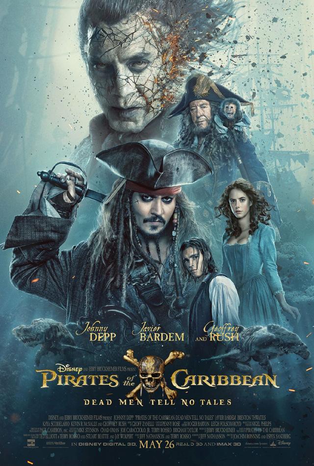 「パイレーツオブカリビアン最後の海賊ポスター」の画像検索結果