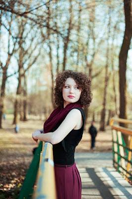 sesja zdjęciowa w parku ludowym, fotograf Lublin, Lubelszczyzna, plener kobiecy Lubin