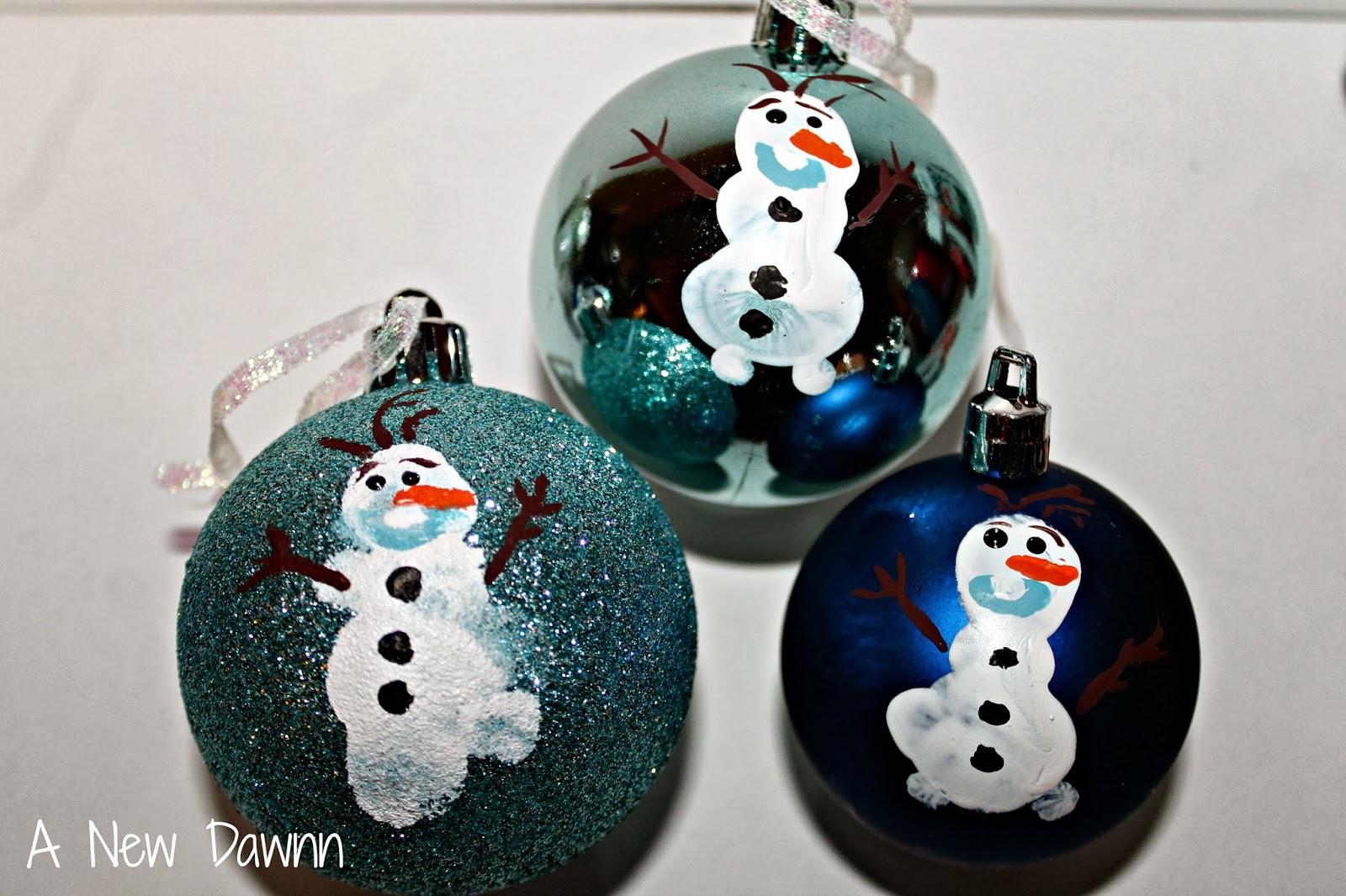 Olaf Fingerprint Ornaments