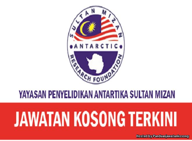 Iklan Jawatan Kosong Yayasan Penyelidikan Antartika Sultan Mizan
