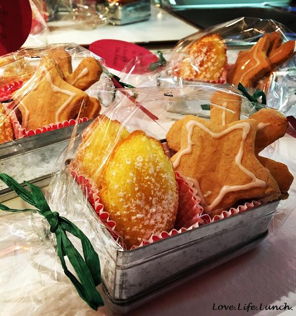 Biscotti al burro d'arachidi e regali di Natale