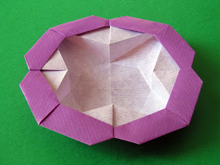 Origami Scatola Stella-fiore - Flower-star box by Francesco Guarnieri