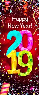 banner đứng chúc mừng năm mới
