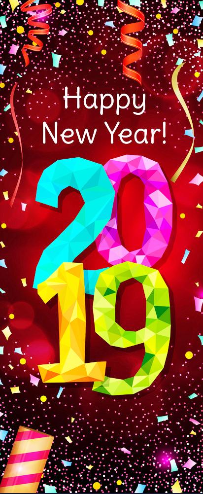 Hướng dẫn cách tạo nhanh một banner đứng chúc mừng năm mới 2019