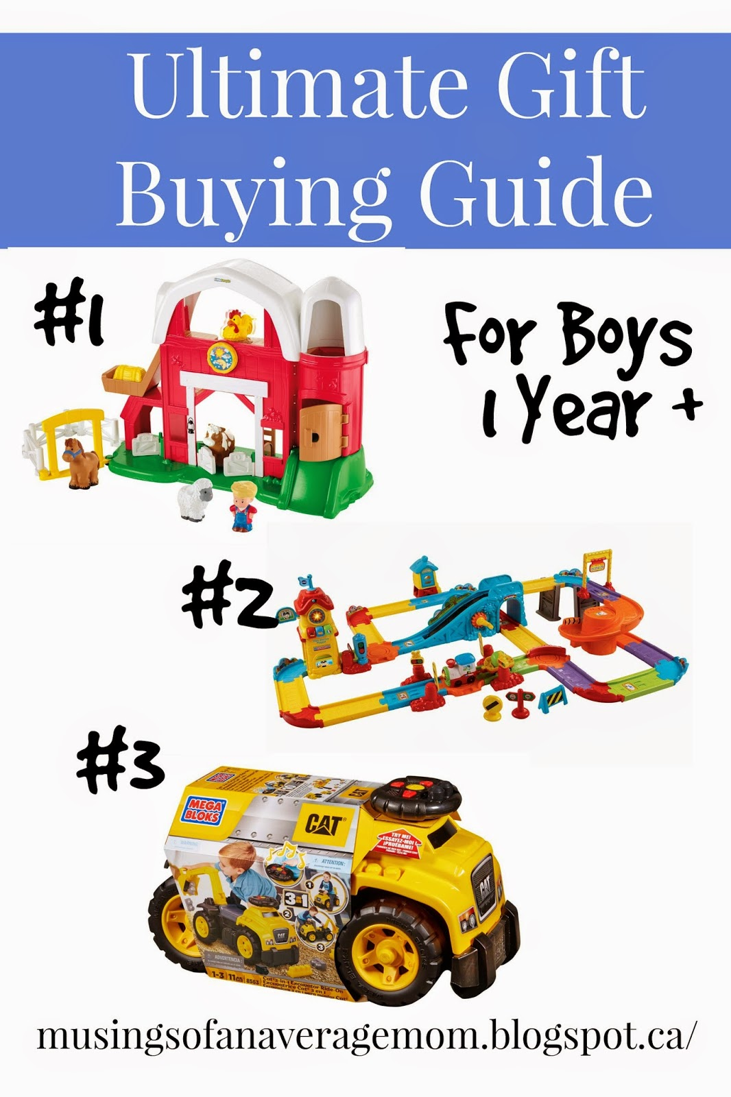 ultimate gift guide for one year olds