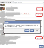 how to invite all friends on facebook page in chrome