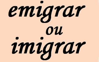 Como se fala: imigrar ou emigrar?