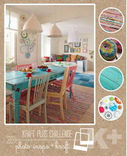 Kraft Plus Challenge December Mood Board