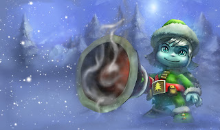 Happy Elf Tristana Skin