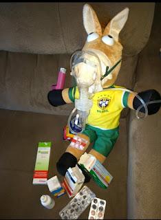 Brasileiro perde a Copa, mas não perde a piada