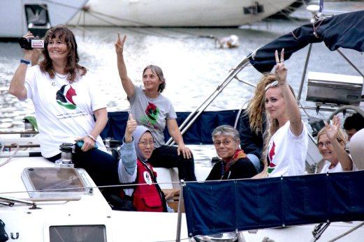 senarai nama 13 aktivis WBG yang ditahan rejim israel, bebaskan aktivis WBG, womens boat to gaza, women to gaza, Siapa 13 aktivis yang ditahan rejim israel,