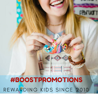 brag tags @ boost promotions