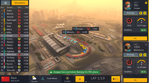 Best Android Racing Games #5 Motorsport Manager