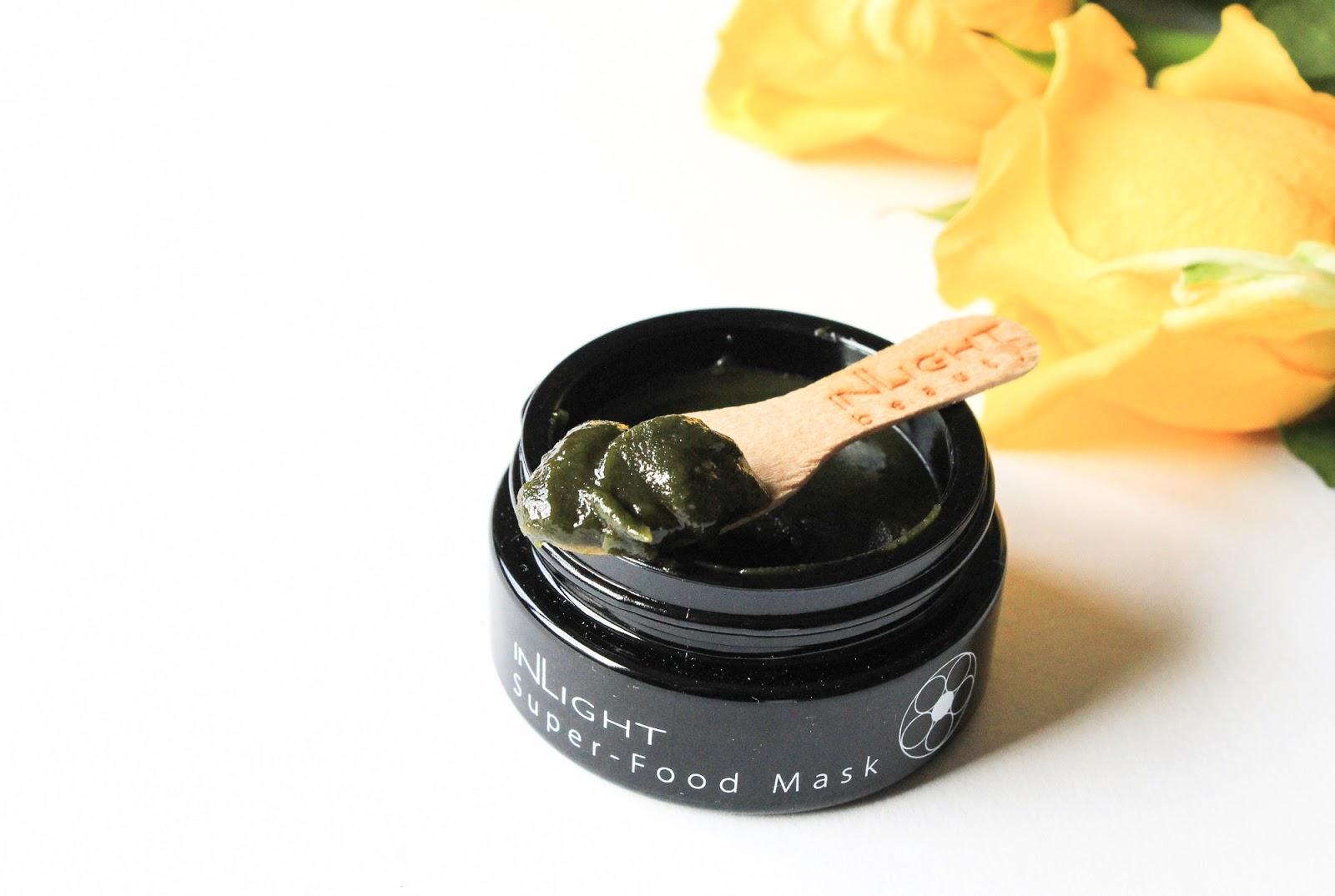 Beauty Discovery Beauty Heroes November 2018 Inlight Beauty Super-Food Mask consistency