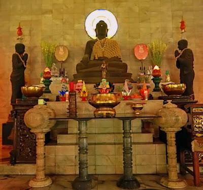 Patung Buddha Tidur Terbesar Nomor 3 Ada di Mojokerto