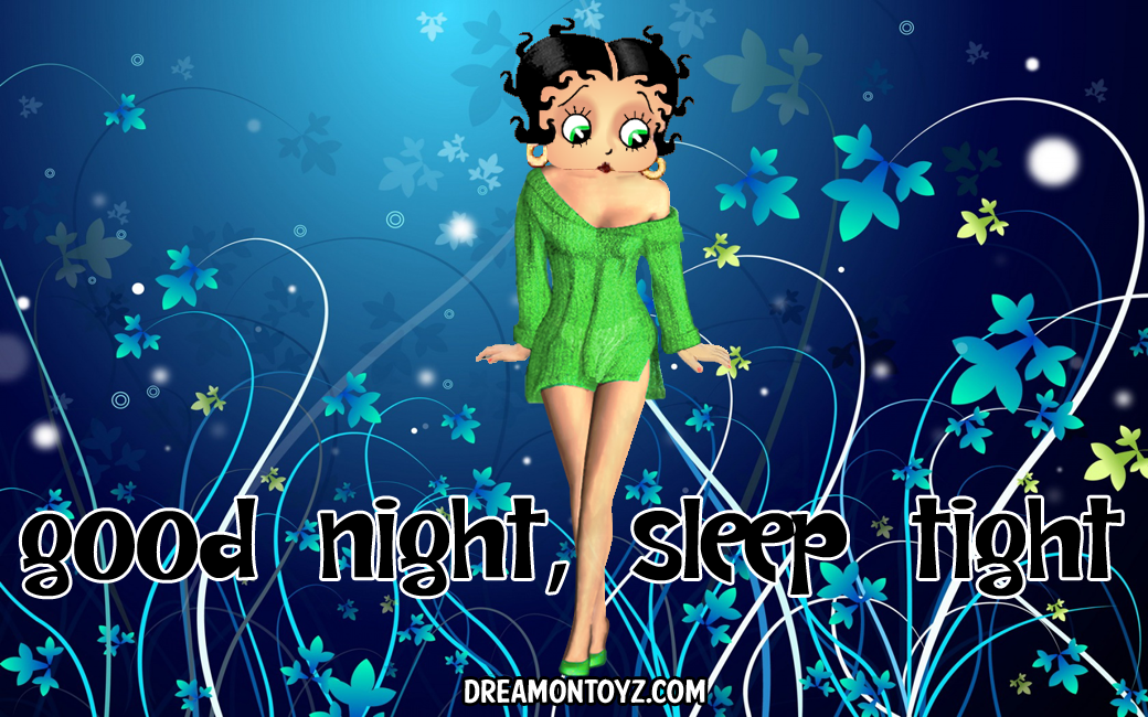 Betty Boop Pictures Archive - Bbpa Betty Boop Good Night -3724