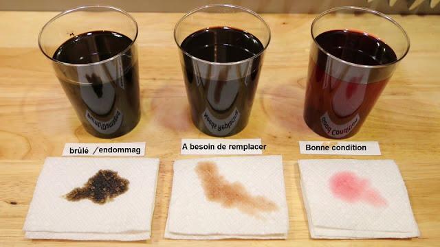 Comment vérifier l'huile a transmission automatique