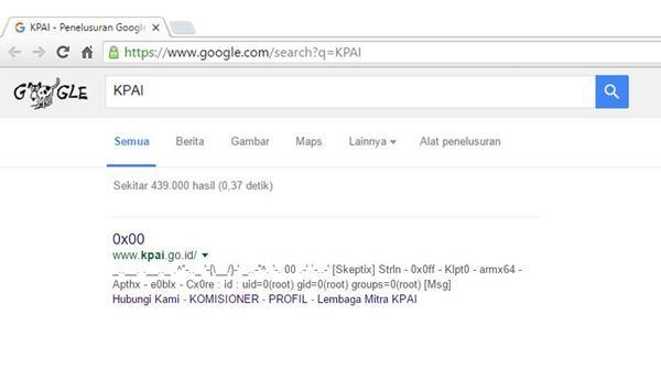 Situs KPAI di Hack Sebelum Diinfokan Melarang 15 Game Membahayakan, Netizen Heboh!