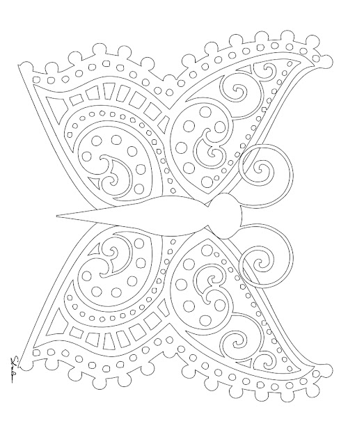 Coloring Pages Mandala Butterfly Free Coloring Pages Of Detailed  Butterfly