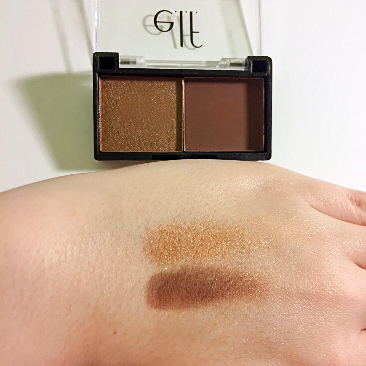 e.l.f. Best Friend Eyeshadow Duo Bestie Brown