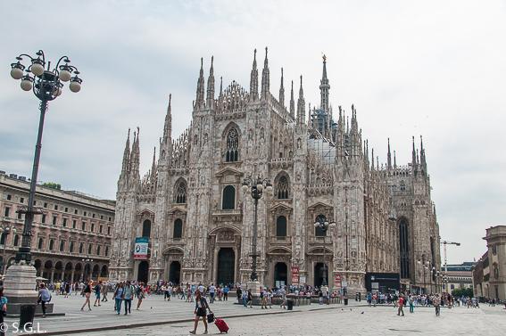 La catedral de Milan. Resumen viajero 2016