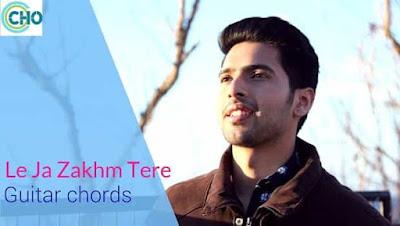Le Ja Zakhm Tere Guitar chords Accurate | Armaan Malik