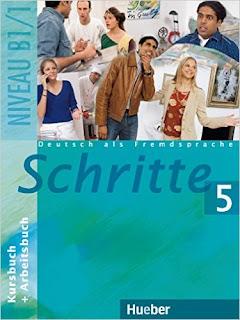 كتاب schritte 5 لتعلم اللغة الالمانية للمستوى B1 مع ملف صوتيات