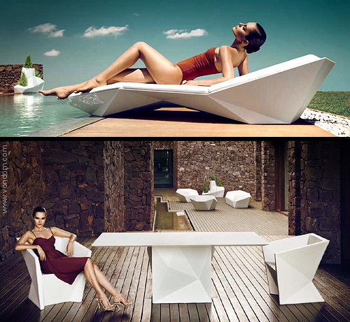 Vondom FAZ outdoor furniture