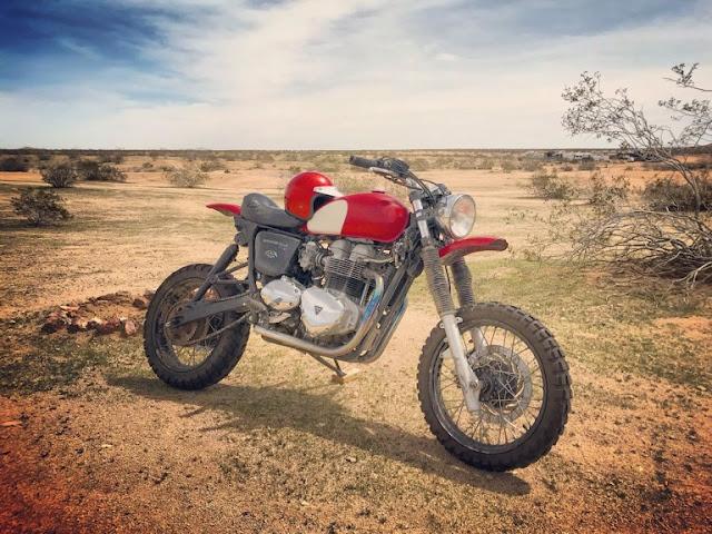 Triumph T100 Desert Sled by Modulus Moto