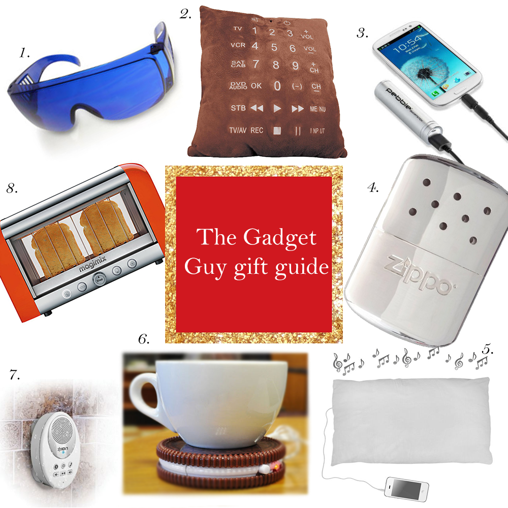 The Gadget Guy Christmas Gift Guide | Present ideas for Dad | Brother | Boyfriend | Friends who like gadgets