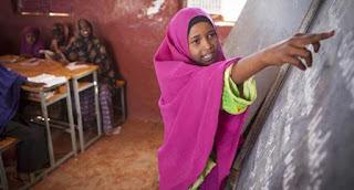 La mitad de los menores refugiados están fuera del sistema educativo