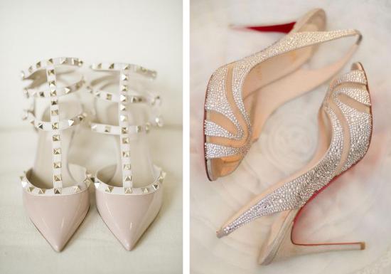 Scarpe da sposa, Valentino, Christian Louboutin