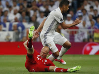 Bayern's Robben Feeling Robbed at Bernabeu