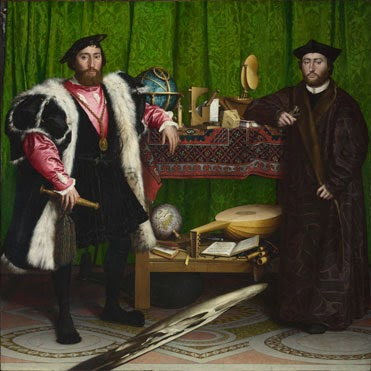 "Holbein's ""The Ambassadors"""