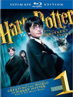 Harry Potter and the Sorcerer's Stone (2001) Ultimate Extended Blu-Ray 480p 450MB Dual Audio ( Hindi - English ) MKV
