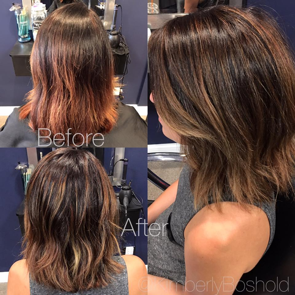 Toner For Orange Highlights Find Your Perfect Hair Style