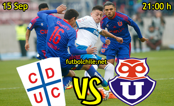 Ver stream hd youtube facebook movil android ios iphone table ipad windows mac linux resultado en vivo, online: Universidad Católica vs Universidad de Chile,